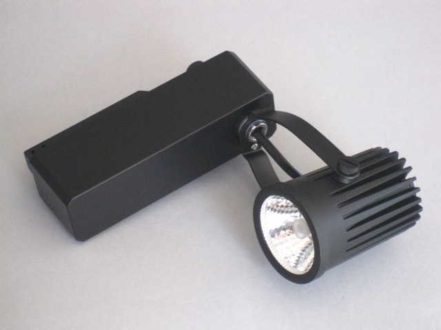 【即納】 UNITY/ユニティ LED ダクトレールスポットライト 小型 JR12V50W相当 色温度2700K 中角 本体黒 ☆LEDレールライト スポット☆ USL-5161MB-27-C2