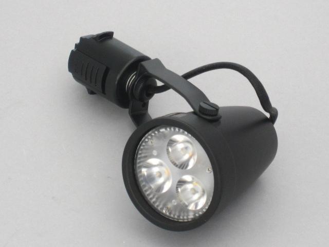 【即納】 UNITY/ユニティ LED ダクトレールスポットライト 本体黒 ☆100V ダイクロハロゲン電球交換可能型 LEDレールライト スポット☆ USL-6002B ※LED電球別売