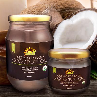 Nutria Organic Virgin Coconut Oil ヌートリア オーガニック ヴァージンココナッツオイル