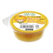 オーサワの有機オレンジ使用のゼリー 60g