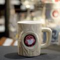 常陸野ネスト 陶器製マグカップ・クリーム 400ml [14343]