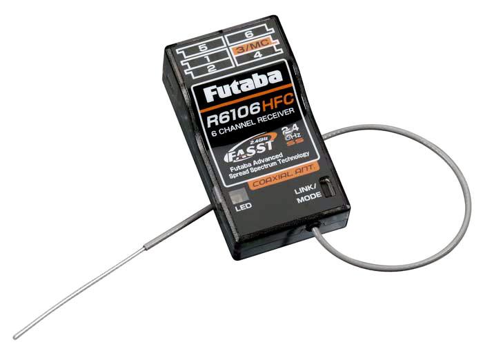 FUTABA R6106HFC-2.4G 受信機(FASST方式)