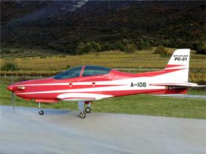 ピラタスPC-21 50 レッド (電動引込脚付属) - Pilatus PC-21 50 Red