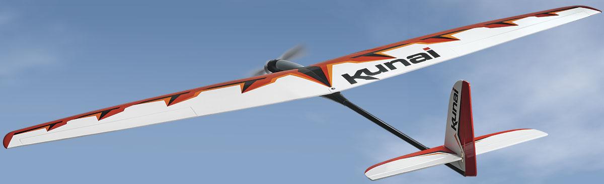 Kunai 1.4M EP Sport Glider ARF