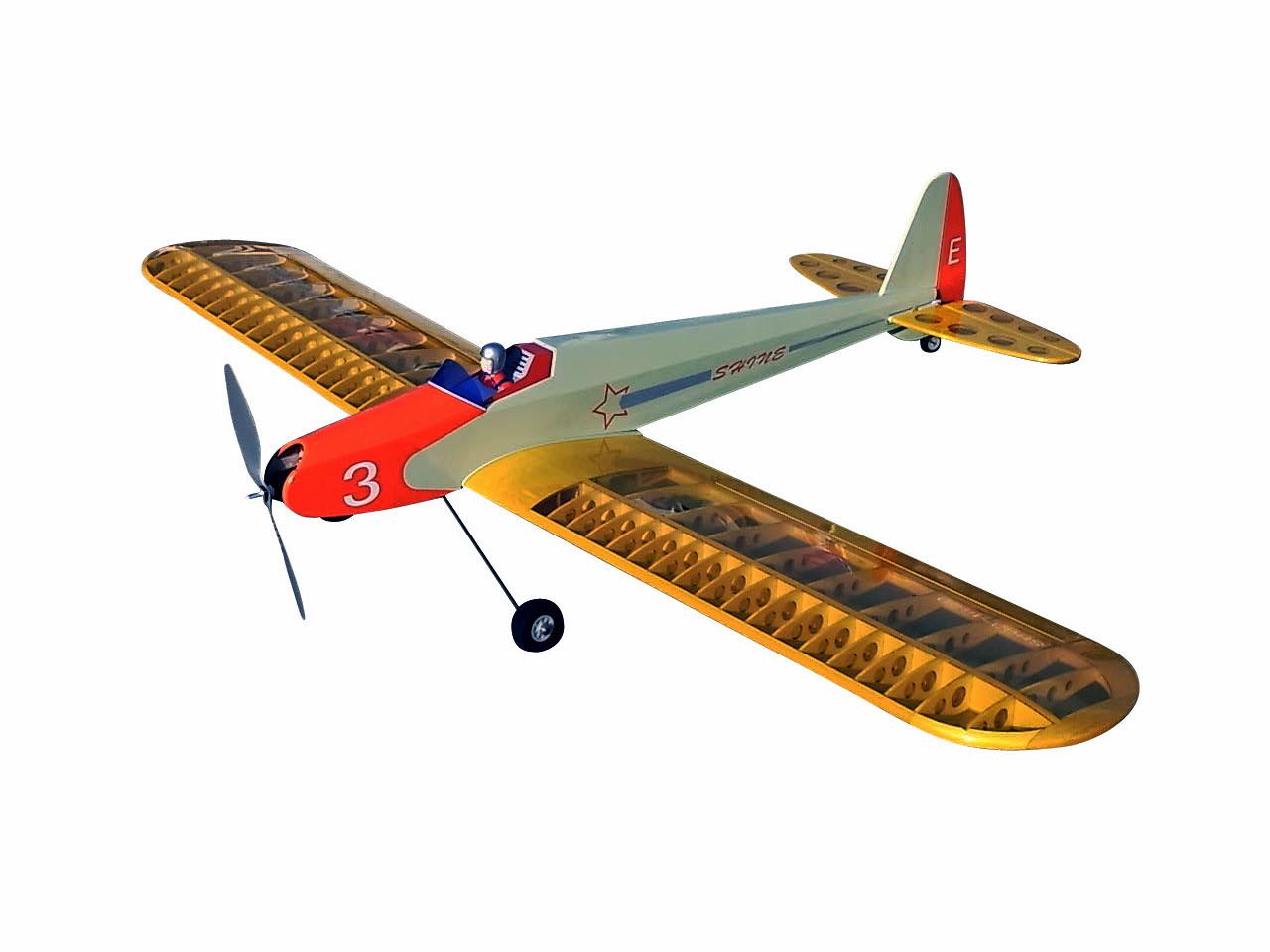 シャインSH03-1320E 低翼エルロン練習機