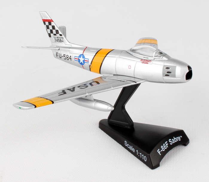 """DARON ポステージスタンプシリーズ 1/110 F-86セイバー """"MIG MAD MARINE"""""""