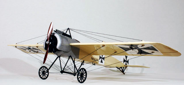 ES フォッカー・アインデッカー(バルサキット) - Fokker Eindecker-