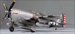 トップフライト P-47サンダーボルト・ゴールドエディション・キット - P-47 THUNDERBOLT GOLD ED KIT画像