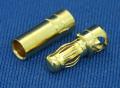 Muldental 3.5mm ゴールドコネクター(20ペア)ードイツ製 【メール便可】