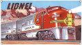 ライオネル・サンタフェ・サインボード - Lionel-SF Sign