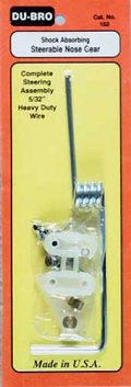 DUBRO 152 ベント・ノーズギア 5/32インチ(4mm)
