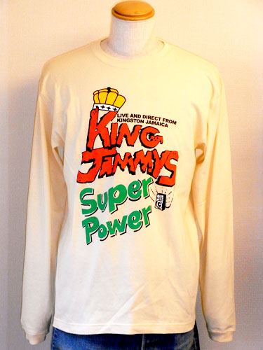 KING JAMMY SUPER POWER T
