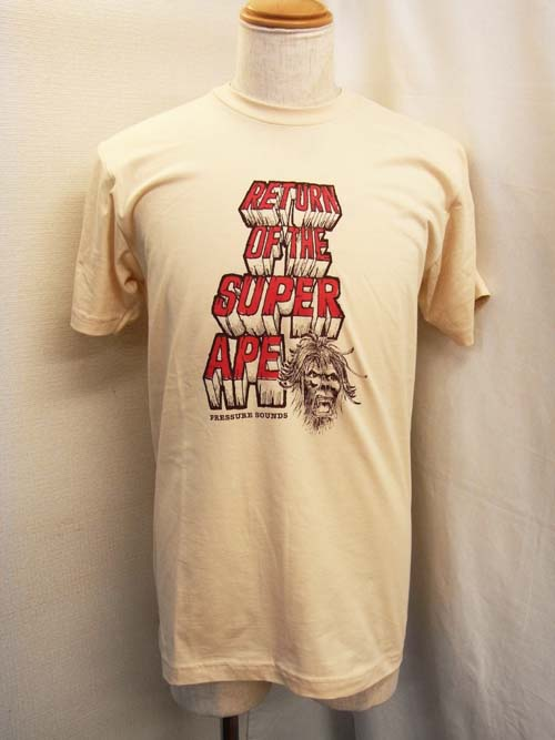 RETURN OF SUPER APE T-SHIRTS