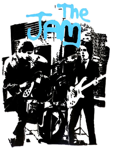 THE JAM Fifth Column オフィシャル復刻Tシャツ FIFTH COLUMN T-SHIRTS