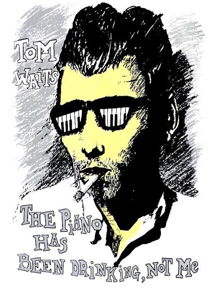 トム・ウェイツ Fifth Column オフィシャル復刻Tシャツ
