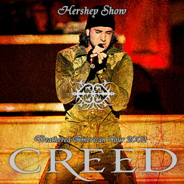 コレクターズCD Creed 2002年アメリカツアー