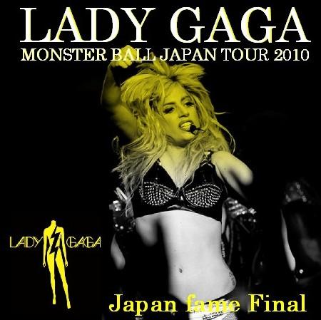 コレクターズCD レディー・ガガ(Lady Gaga 2010年日本公演 最終日)横浜 2010.04.18
