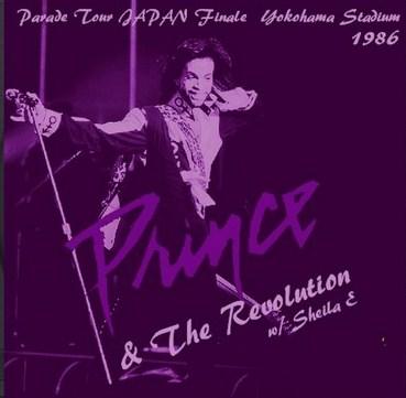 Prince(プリンス&ザ・レヴォリューション w/ シーラ E 86年日本公演)/横浜スタジアム86.9.9