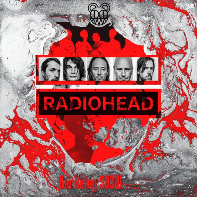 コレクターズCD Radiohead 2017年アメリカツアー