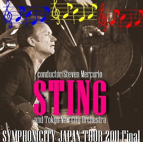 コレクターズCD スティング(Sting)2011年日本公演 最終日 2011.01.19 東京