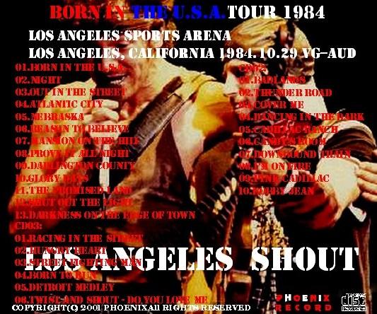 コレクターズCD ブルーススプリングスティーン 84年アメリカ公演 Born in the USA Tour ...
