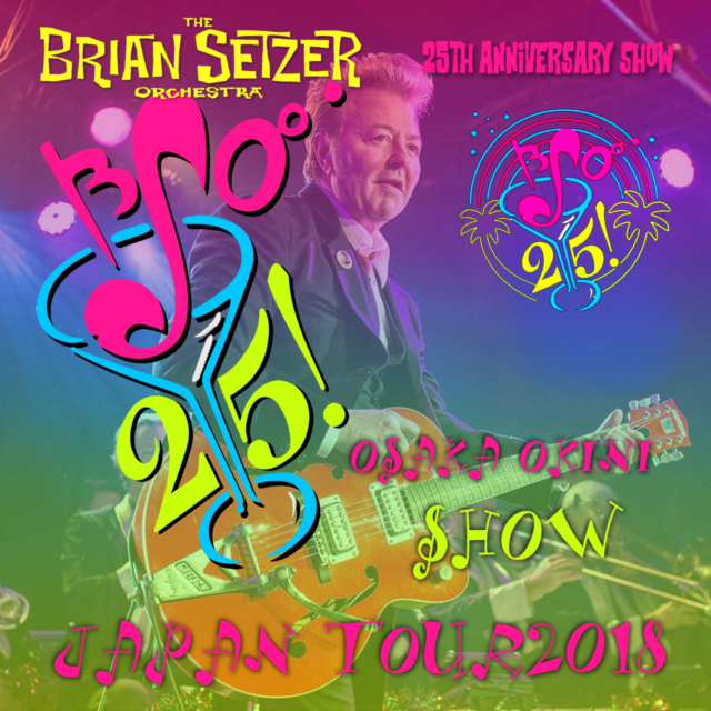 コレクターズCD Brian Setzer Orchestra - Japan Tour 2018