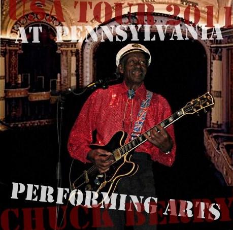 コレクターズCD Chuck Berry(チャック・ベリー) 2011年アメリカツアー