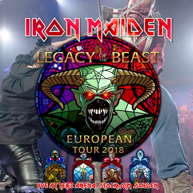 コレクターズCD Iron Maiden - Legacy of the Beast European Tour 2018