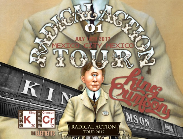 コレクターズCD King Crimson - Radical Action Tour 2017