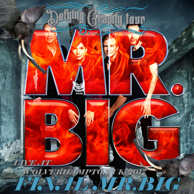 コレクターズCD Mr. Big - Defying Gravity European Tour 2017 Final