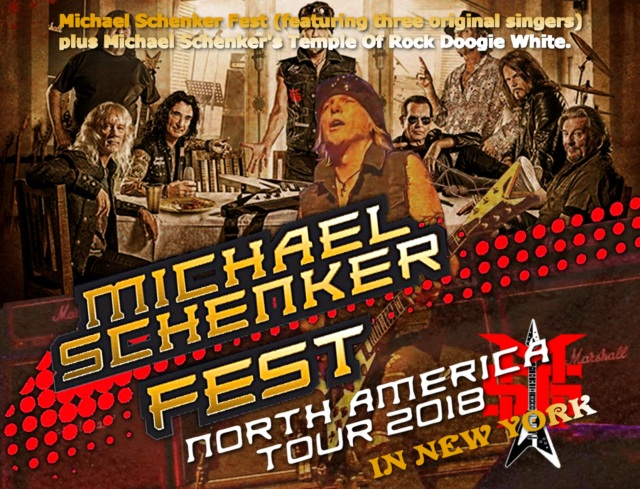 コレクターズCD Michael Schenker Fest - 2018