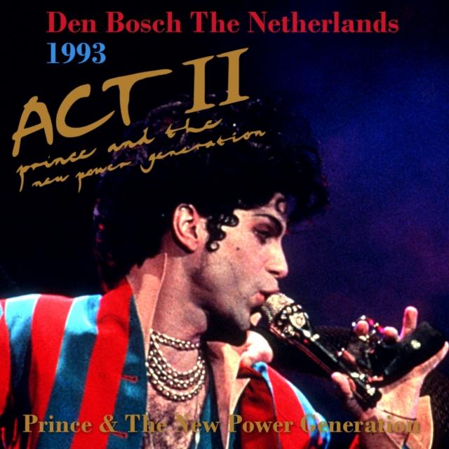 コレクターズCD プリンス1993年ヨーロッパツアー(Musicology Tour 2004)