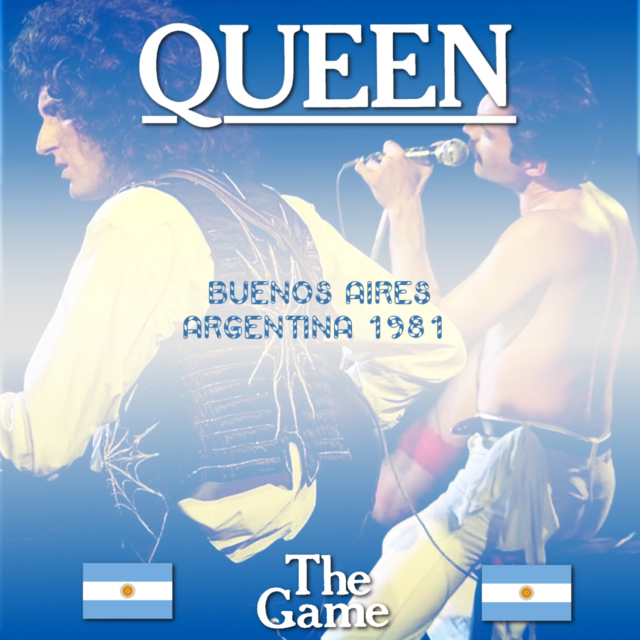 コレクターズCD Queen - The Game South American Tour 1981