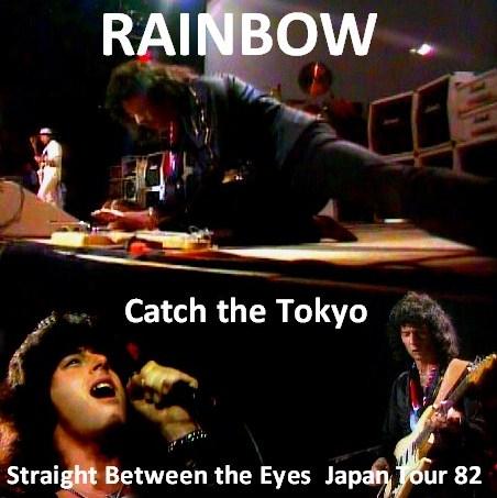 レインボーw/ジョン・リン・ターナー82年日本公演 東京武道館)/Straight Between the Eyes Japan Tour82