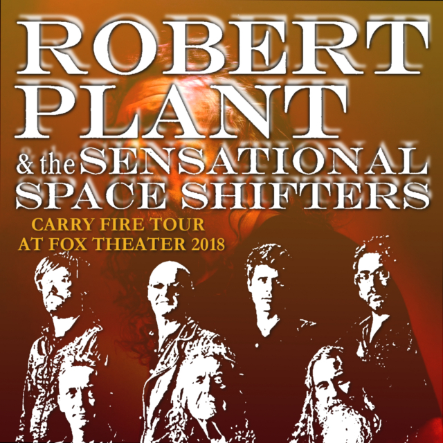 コレクターズCD Robert Plant and The Sensational Space Shifters - Carry Fire Tour 2018