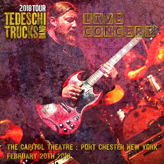 コレクターズCD Tedeschi Trucks Band - American Tour 2018
