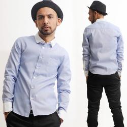 クレリックストライプシャツ