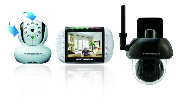MOTOROLA [日本仕様正規品] MBP360 屋内兼屋外用ホームセキュリティーモニター Mr.mamoru 保証付き