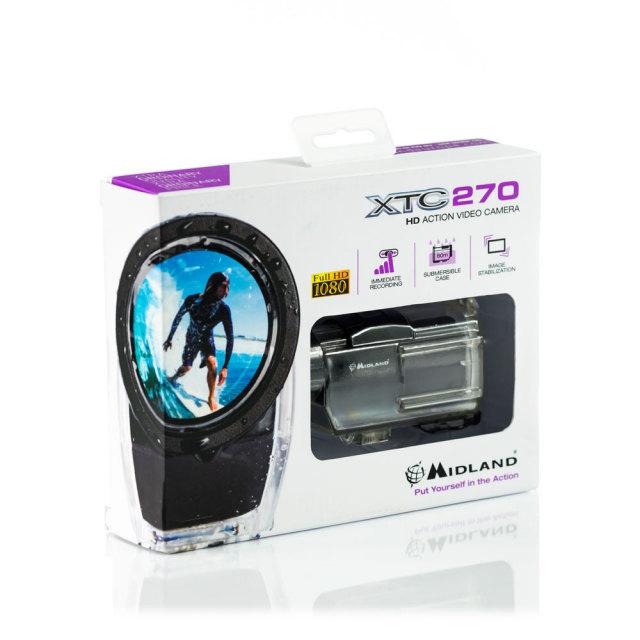 MIDLAND 「日本仕様正規品」 XTC270 HD アクションカメラ 保証付C1175