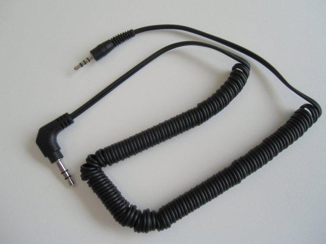 オーディオ接続ケーブル(2.5φ-3.5φ) [メール便]L1305