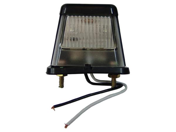 LED防水ナンバー灯(ブラック)