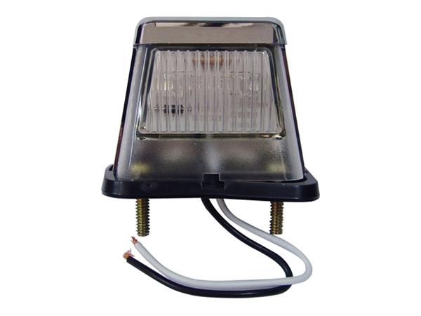 LED防水ナンバー灯(メッキ)