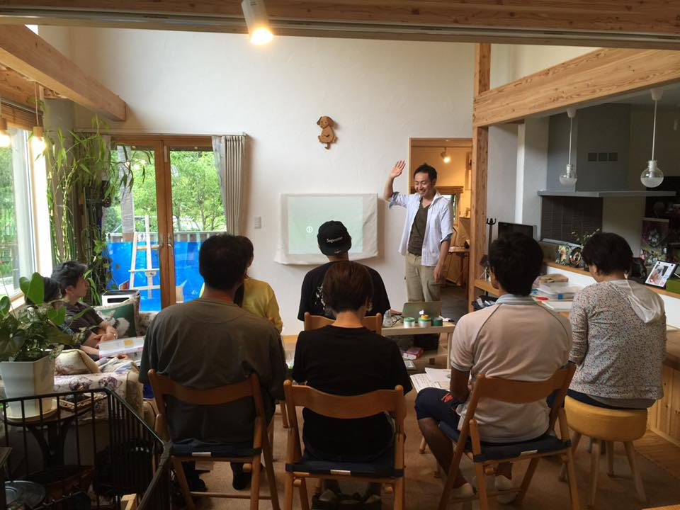 家一軒まるごと塗り壁DIY教室in仙台