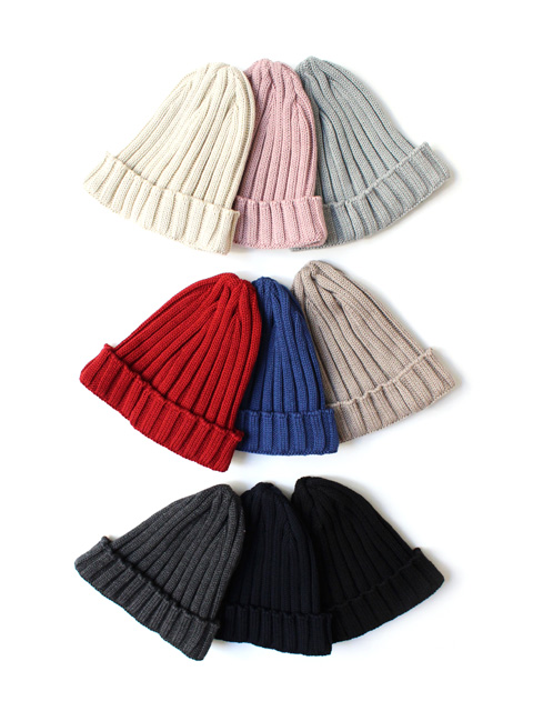 【30%OFF】LEUCHTFEUER ORLAND KNIT CAP RIB