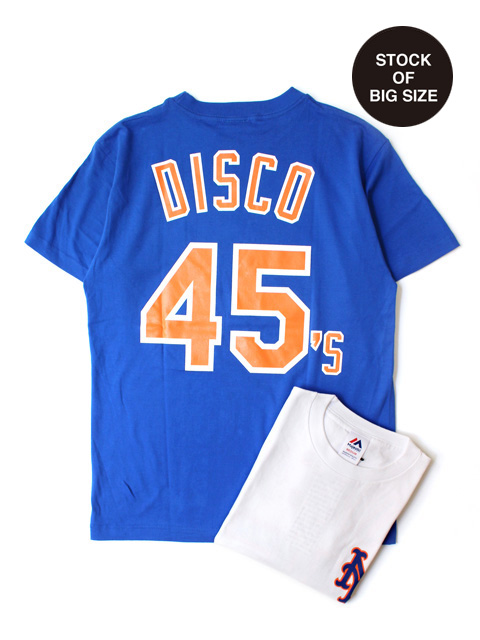【30%OFF】M.V.P. x MAJESTIC METS DISCO 45's TEE