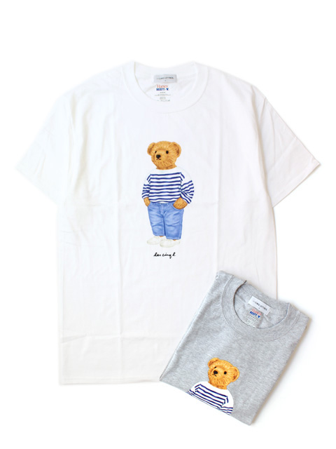 LES CINQ LETTRES. French Teddy Tee