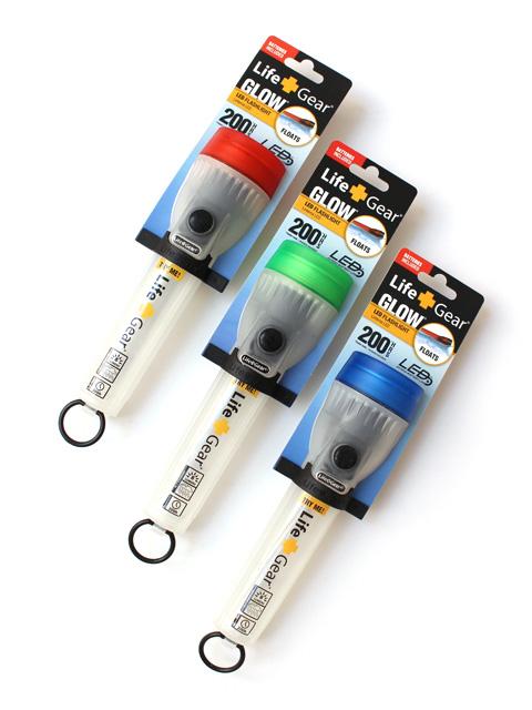 Life Gear LED Glow Mini Flashlight