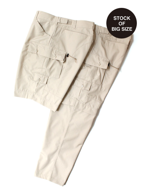 【40%OFF】Hombre Nino × CORONA EXPLORER 2WAY PANTS -BEIGE-