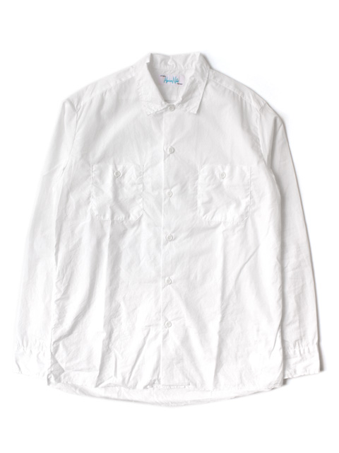 【40%OFF】Hombre Nino CUT OFF WORK SHIRT