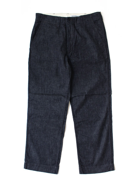M.V.P. × CORONA CHINO PANTS -INDIGO-